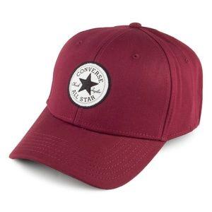Maroon Converse Chuck Taylor All Star Baseball Hat